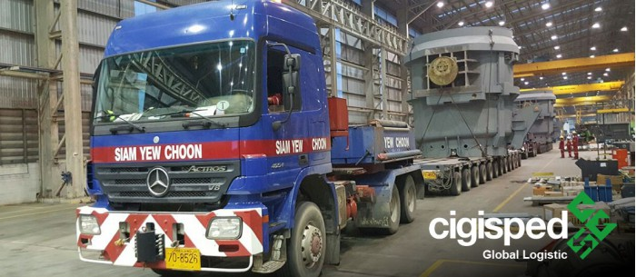 Read more about Oversize load from Thailand to North of Europe