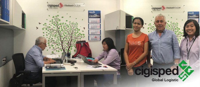 Cigisped start the new year with the opening of a new office in Thailand