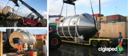 Read more about Special shipment of tank